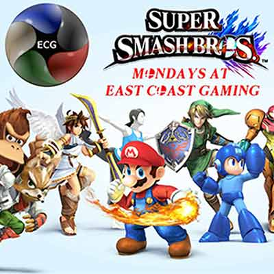 Play Super Smash Brothers Tournaments in Raleigh NC